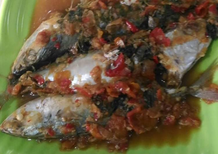 Resep: Ikan kembung pindang tetel lezat