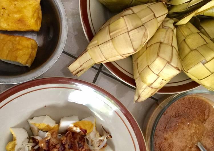 Resep membuat Kupat tahu garut ala resto