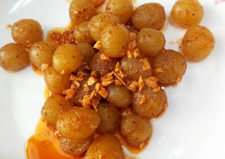 Resep mengolah Cimol Bojot khas Garut lezat