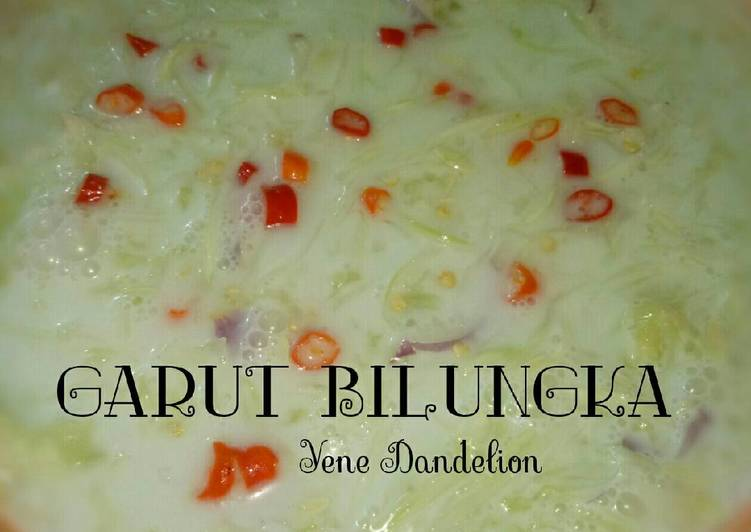Garut Bilungka (Sayur Timun Serut) - Banjarmasin #Dandelion