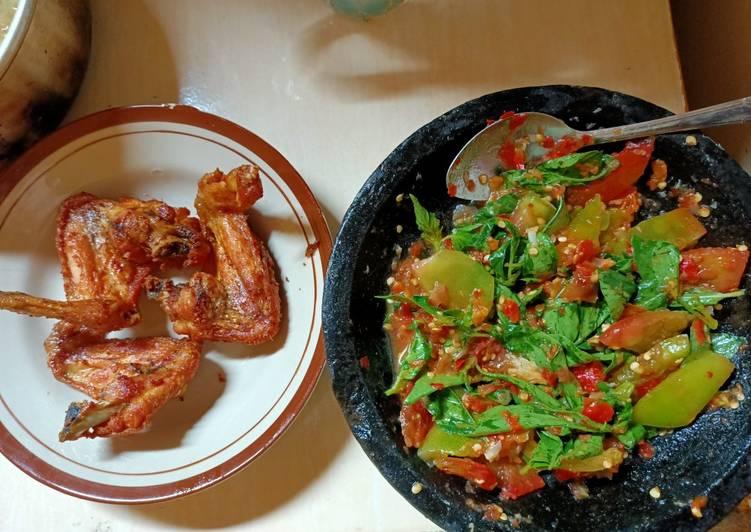 Ayam Goreng samBal Cibiuk