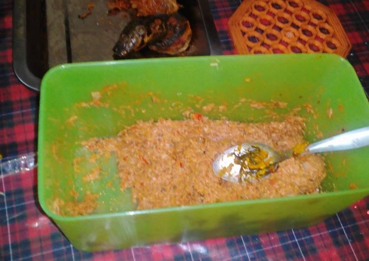 Resep: Sambal Rias khas Tapanuli (batak) yang menggugah selera