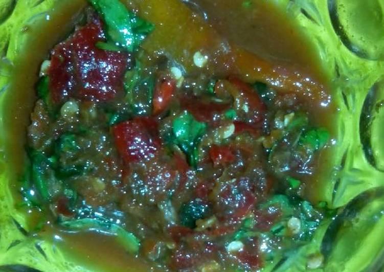Resep memasak sambal cibiuk ala rosi yang menggugah selera