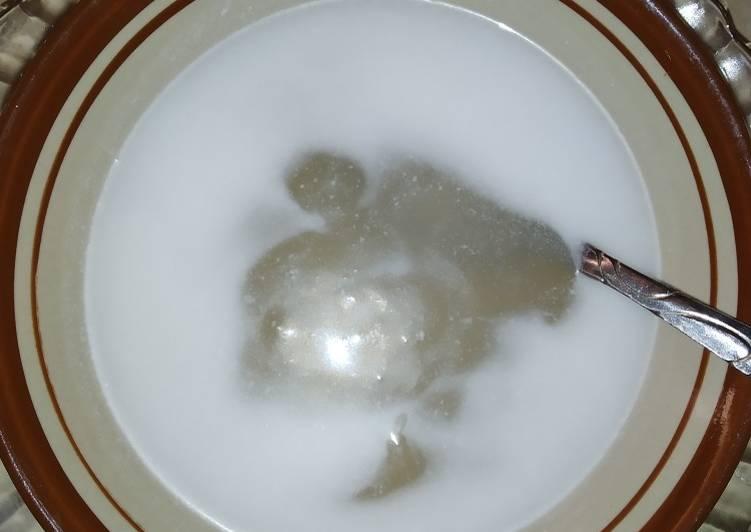 Resep: Bubur garut / jenang garut yang menggugah selera