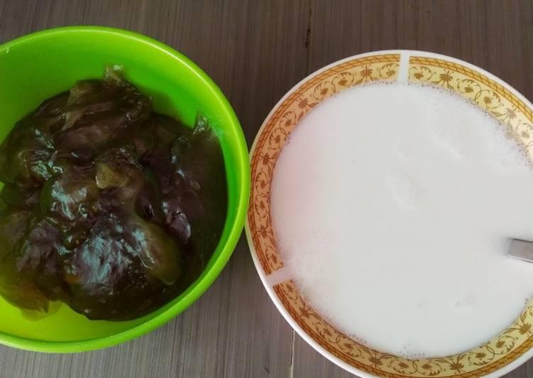 Resep: Bubur tepung garut istimewa