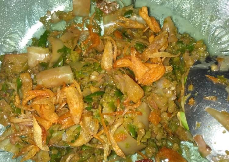 Resep: Sambal honje (sambal rias) yang bikin ketagihan