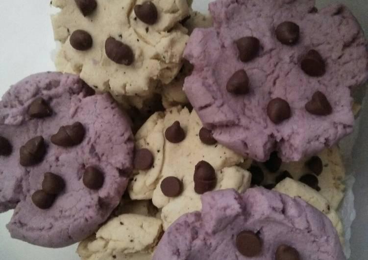 Resep mengolah 77. Cookies Garut 5 bahan Anti Ribet sedap