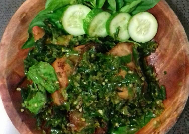 Cara memasak Ayam Goreng Sambal Cibiuk yang menggugah selera