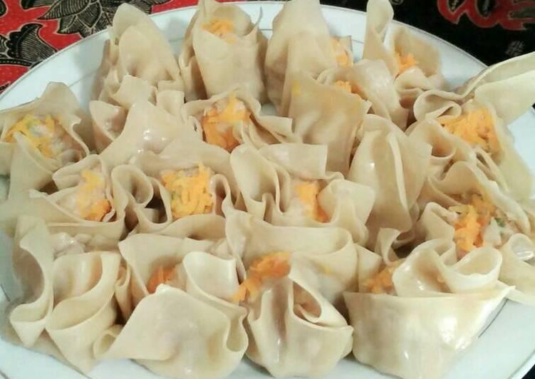 Resep: Siomay garut simple di jamin enak pisan pake banget. yang menggugah selera