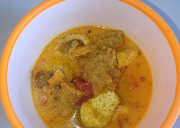 Resep: Sayur Tahu + Dorokdok Simple yang menggugah selera
