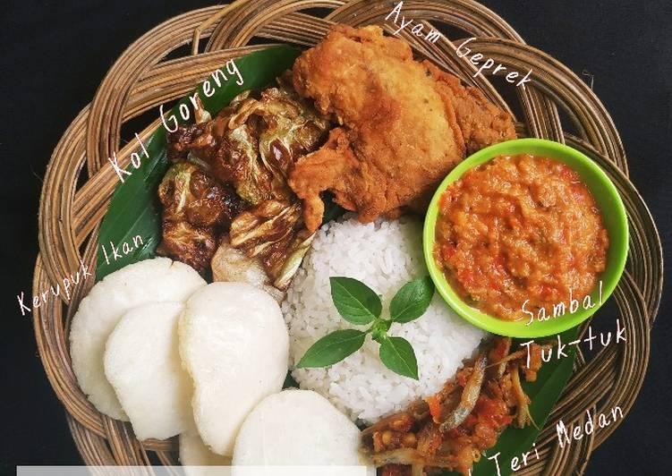 Resep mengolah Ayam Geprek Sambal Tuk-tuk (khas batak) istimewa
