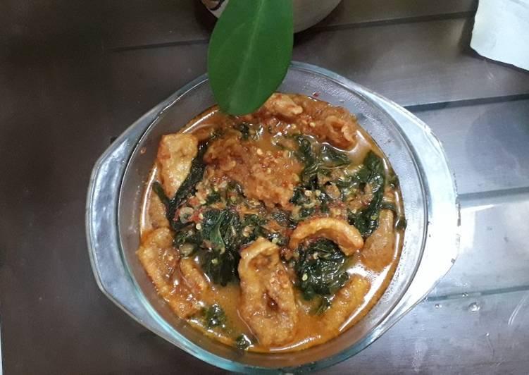 Resep memasak Buntil Daun Singkong rumahan enak