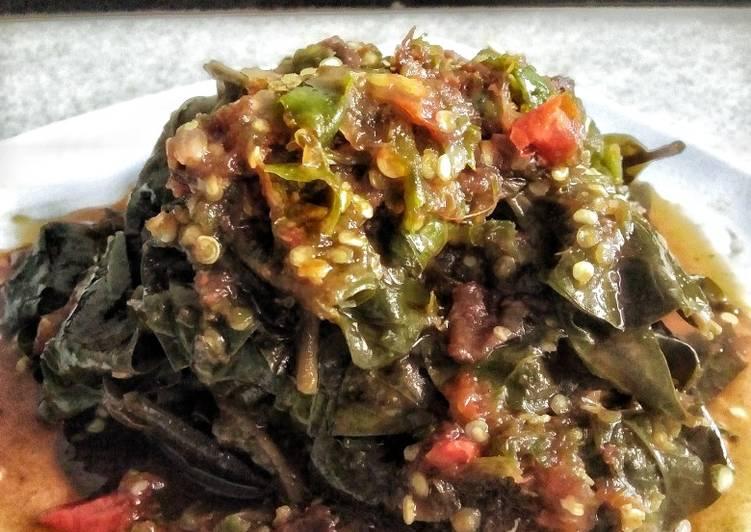 Cara memasak 182. Rujak Kangkung Khas Cibingbin-Kuningan ala resto