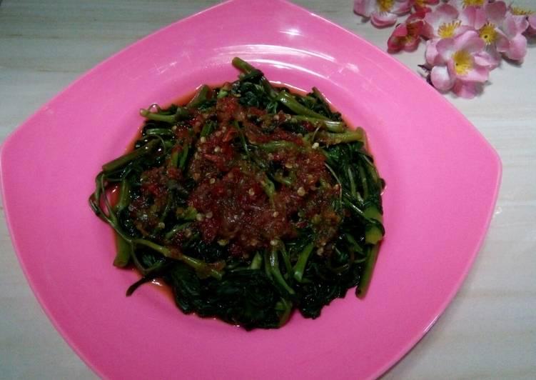 Resep: Rujak Kangkung Khas Kuningan ala resto