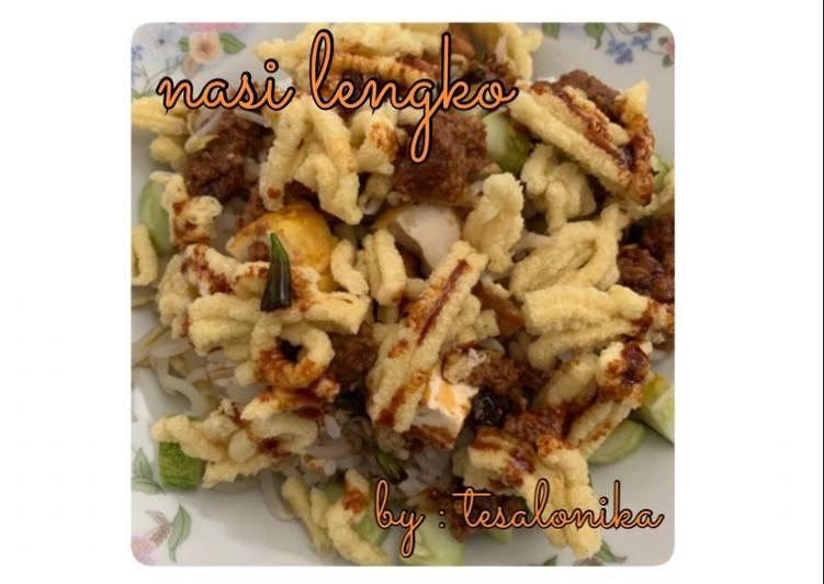 Resep: Nasi Lengko Suka Suka yang menggugah selera