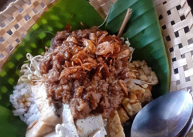 Resep: Nasi Lengko ala resto