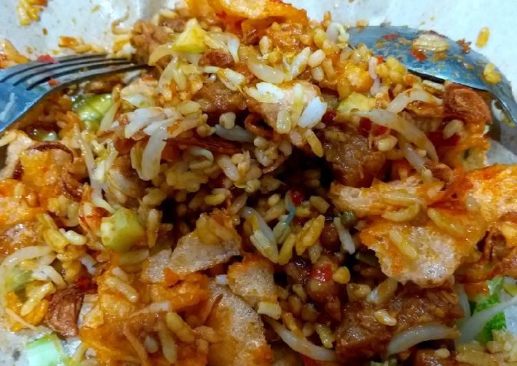 Resep membuat Nasi Lengko tanpa Kucai yang bikin ketagihan