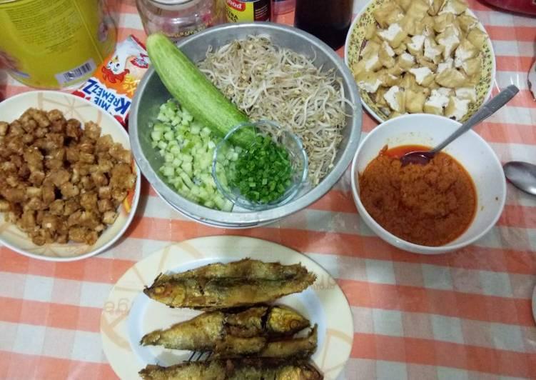Cara mengolah Nasi lengko yang bikin ketagihan