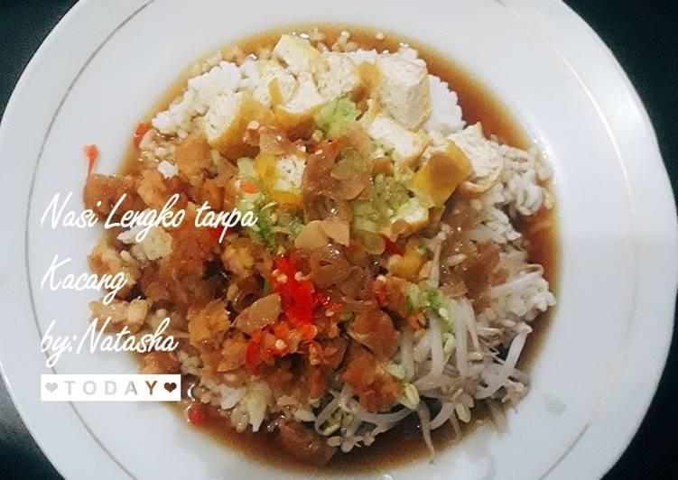 Nasi Lengko (tanpa kacang)