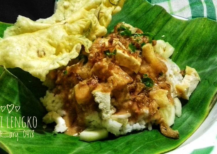 Resep membuat Nasi lengko #pr_BukanNasiBiasa istimewa