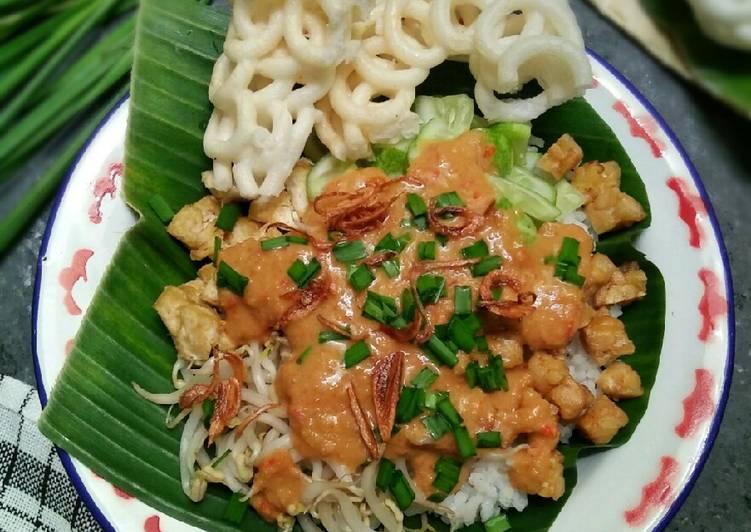 Cara memasak NASI LENGKO / Sega Lengko khas pantura #pr_bukannasibiasa ala resto