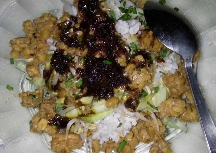 Resep memasak Nasi lengko khas brebes ala resto