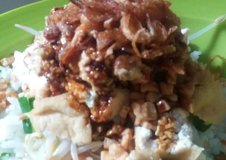 Cara mengolah Nasi lengkoh yang bikin ketagihan