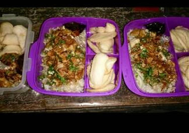 Cara memasak Nasi lengko bekal anak2 ku tersayang lezat