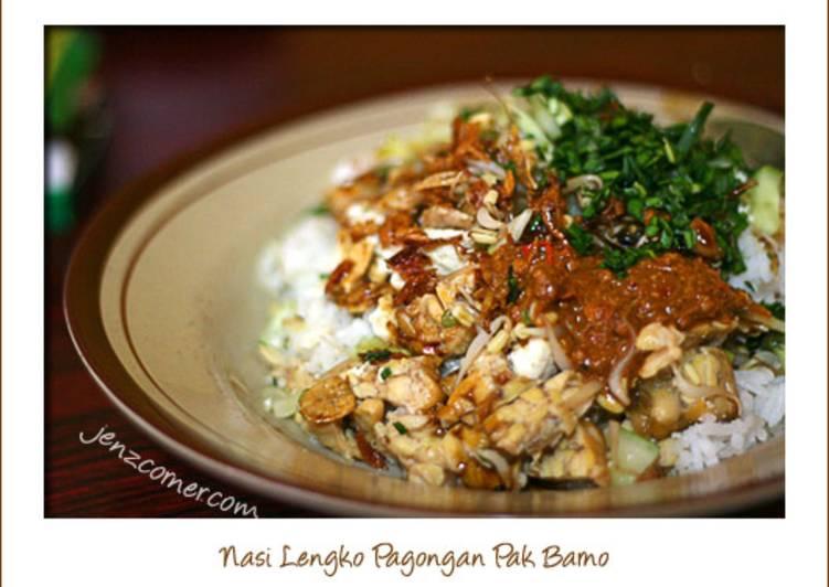 Resep memasak Nasi Lengko yang bikin ketagihan