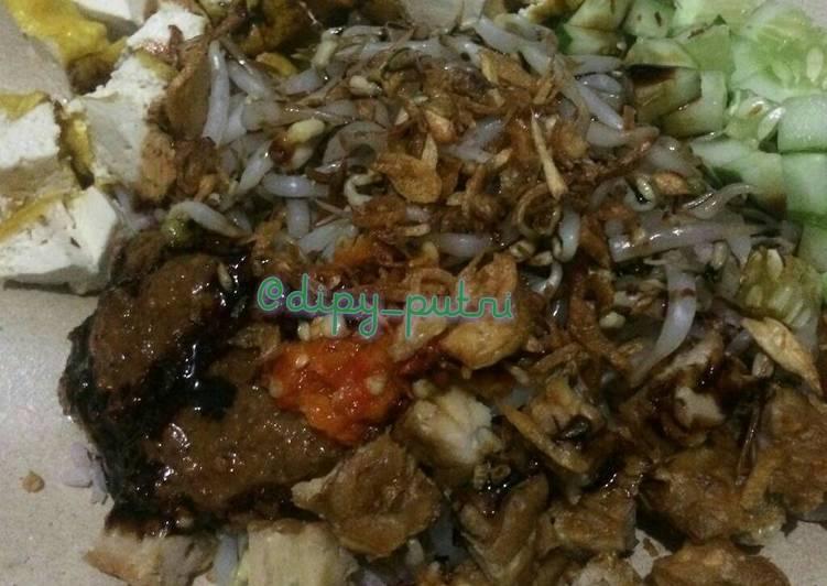 Resep membuat Nasi Lengko yang menggugah selera