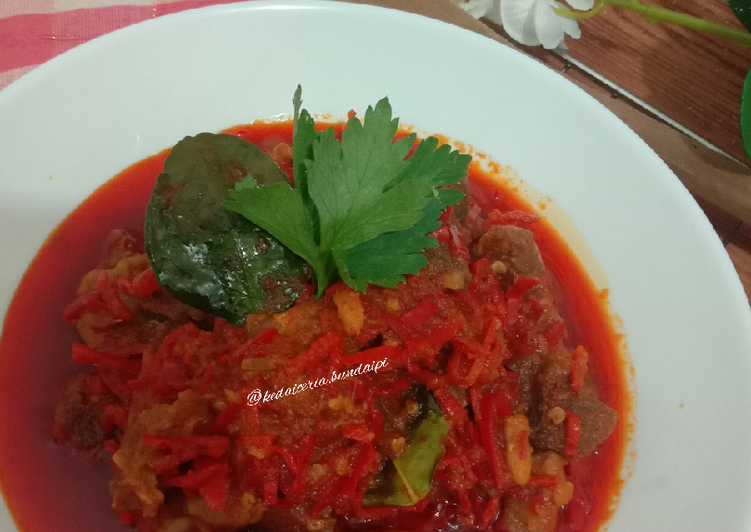 Resep: Sambel goreng daging cirebon yang bikin ketagihan