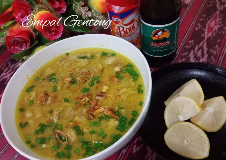 Empal Gentong Fiber Creme (Khas Cirebon)