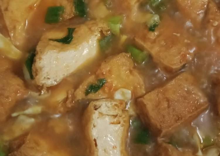 Cara Mudah memasak Sayur tahu ala² nasi jamblang khas Cirebon sedap