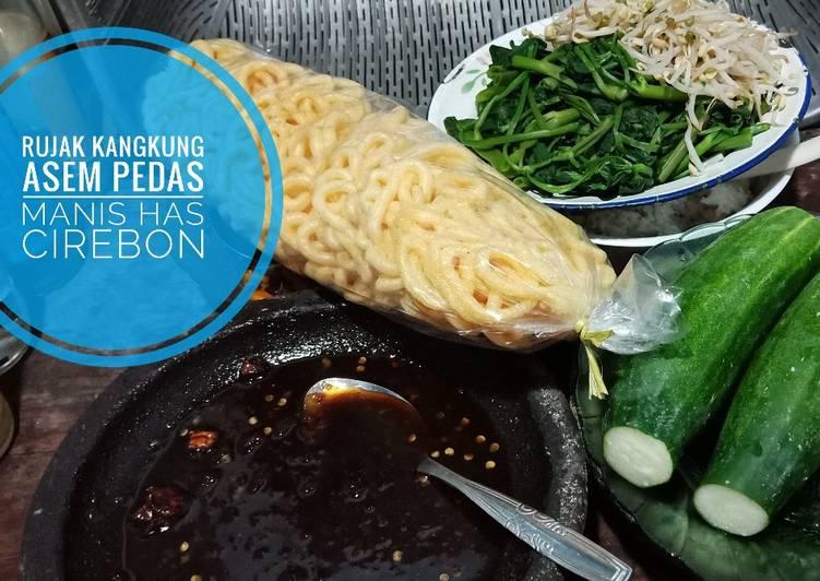 Resep: Rujak kangkung has cirebon istimewa