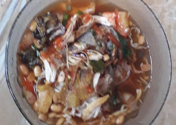 Resep: Bubur sop ayam khas cirebon enak