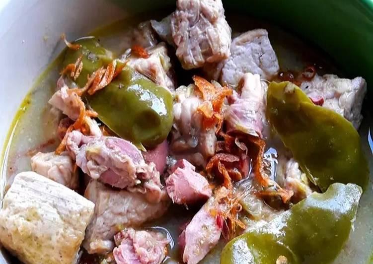 Cara Mudah mengolah Sayur Cabai Hijau Khas Cirebon yang bikin ketagihan