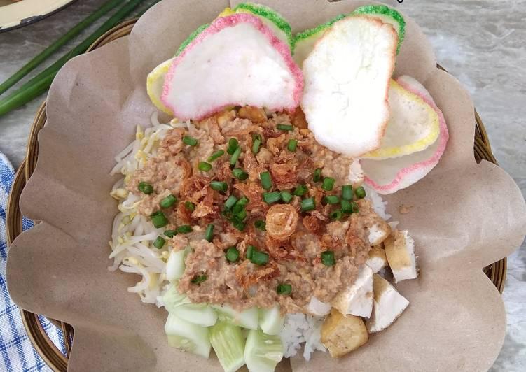 Resep: Sega Lengko khas Cirebon lezat