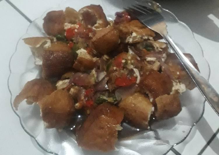 Resep memasak Tahu gejrot khas cirebon sedap