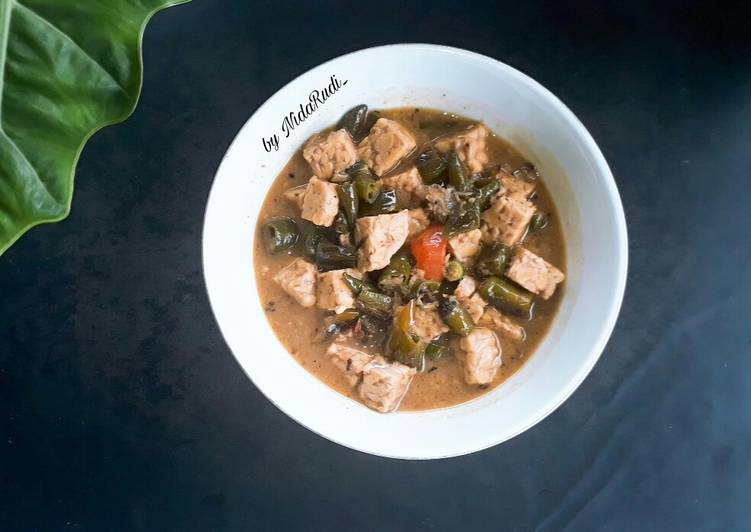 Resep mengolah Sayur Cabe Ijo khas Cirebon