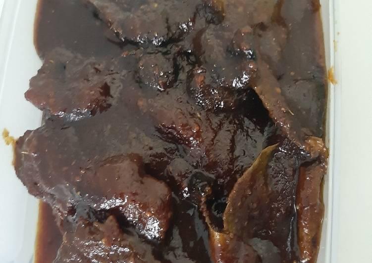 Resep mengolah Empal daging sapi yang bikin ketagihan