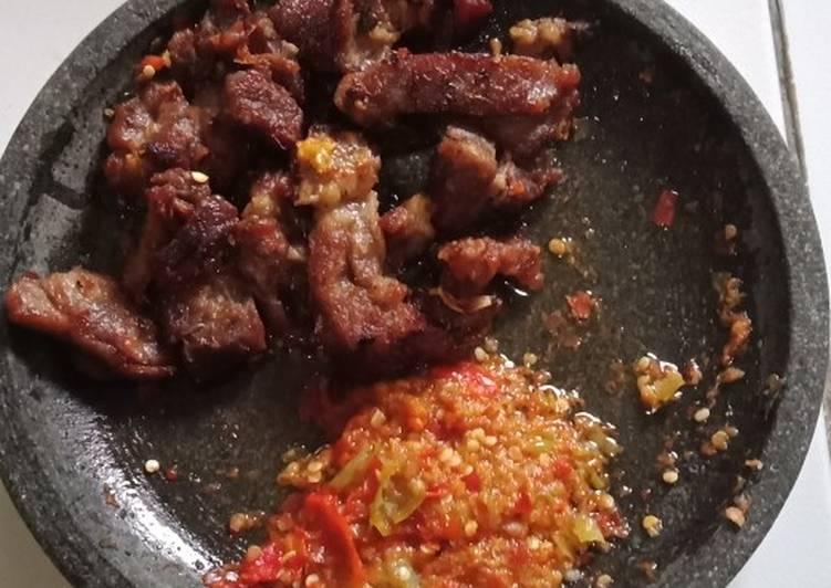 Empal kambing anti bau 😇