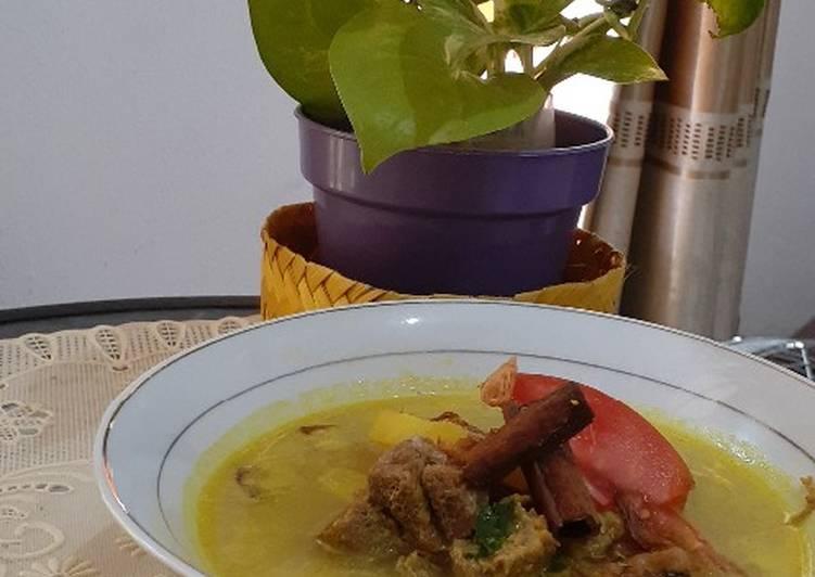 Resep mengolah Empal Gentong masak presto sedap