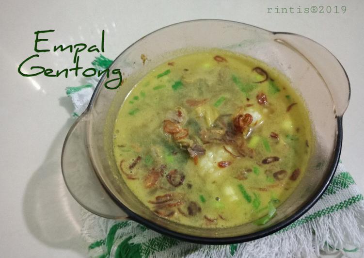 Resep mengolah Empal Gentong aka empal panci aja 😆 ala resto