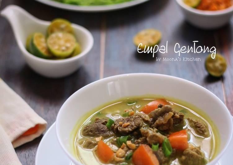 Resep memasak Empal Gentong ala resto