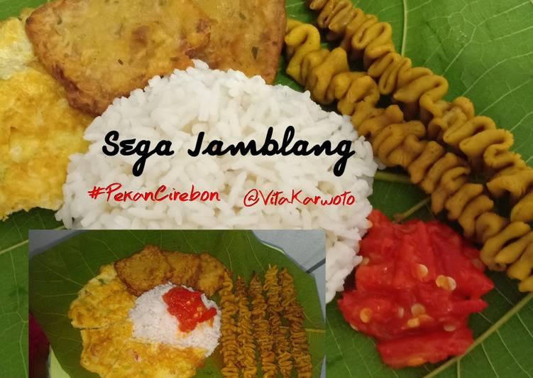 Resep: Sega Jamblang / Nasi Jamblang khas Cirebon yang menggugah selera