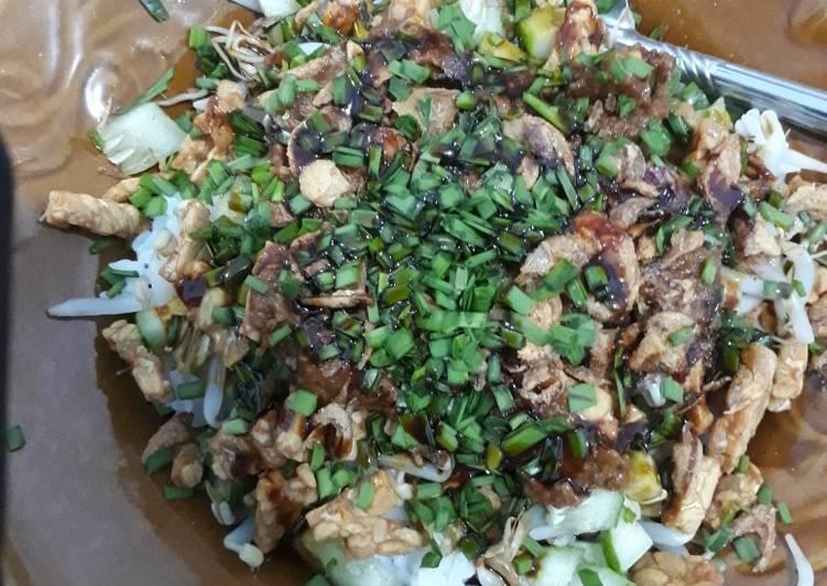 Resep: Nasi lengko Cirebon sedap
