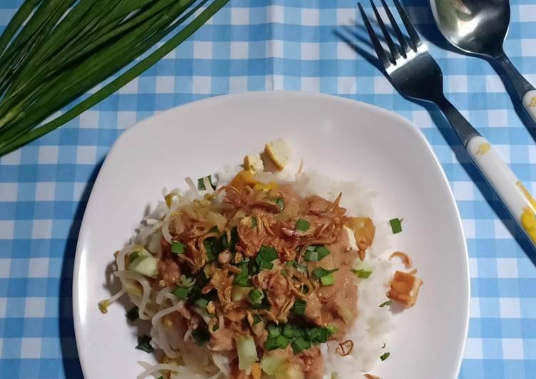 Resep: Nasi lengko khas Cirebon istimewa