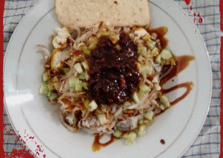 Resep memasak Nasi lengko khas Cirebon enak