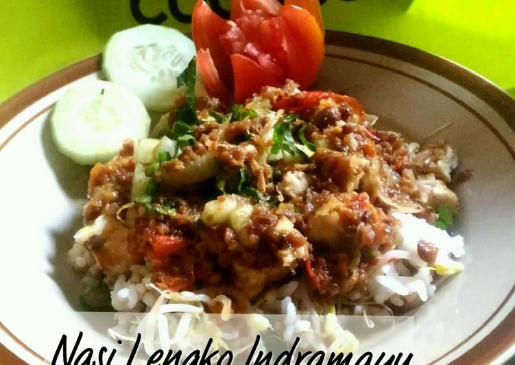 Cara membuat Nasi Lengko Indramayu // Khas Jawa Barat yang menggugah selera