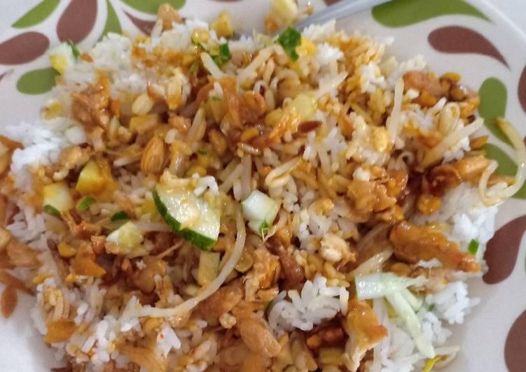 Cara mengolah Nasi lengkoh khas Cirebon Indramayu enak